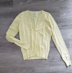 Marks & Spencer Yellow Cardigan